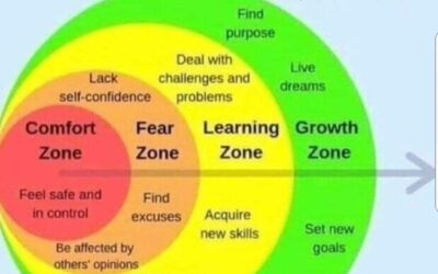 Comfort Fear Learning Growth Zones