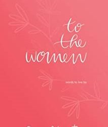 To the women – book of poems by Donna Ashworth
